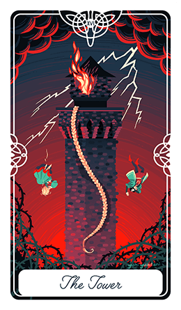 The Tower Tarot Card Meaning - Spirit Navigator