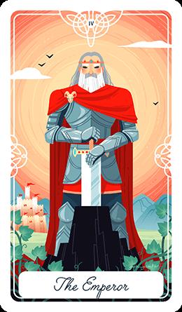 The Emperor Tarot Card Meaning Spirit Navigator