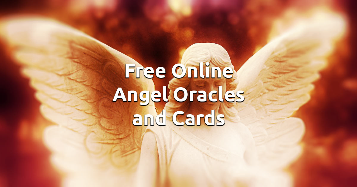 Free Online Angel Oracles and Cards