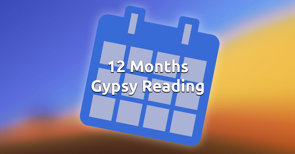 Free Online 12 Months Gypsy Cards Reading