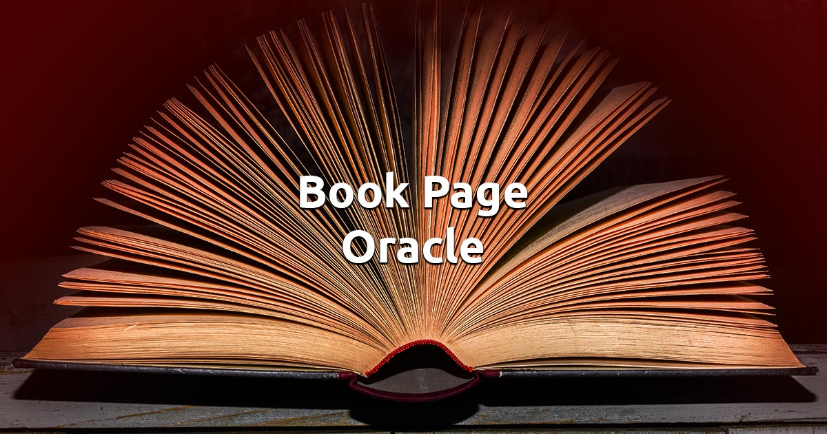 Free Online Book Page Oracle