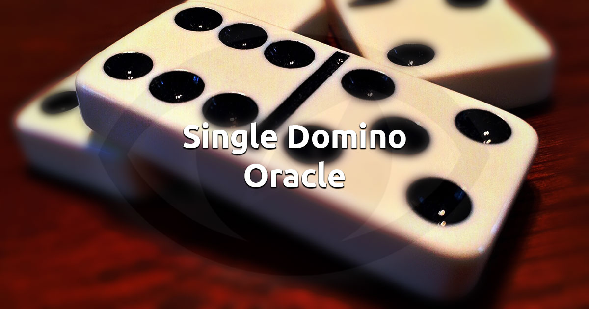 Free Online Domino Fortune Telling Oracle