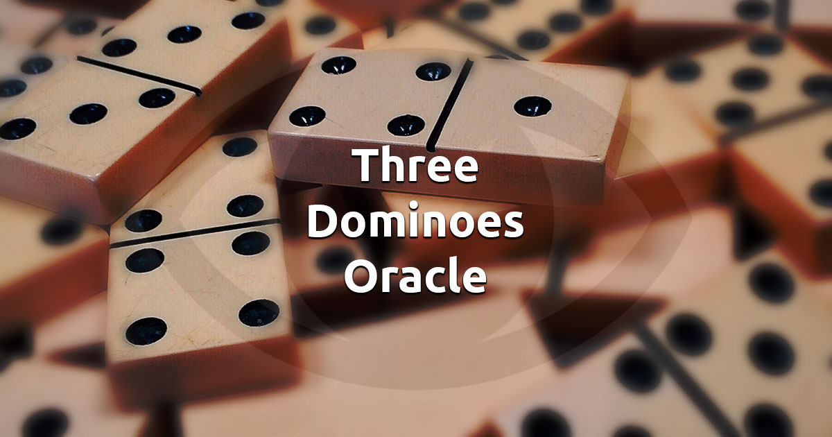 Free Online Three Dominoes Oracle