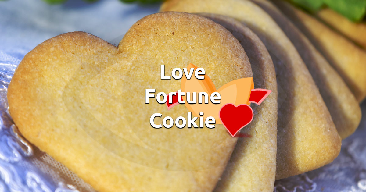 Free Online Love Fortune Cookie