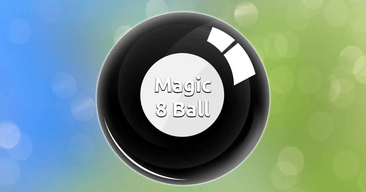 Free Online Magic 8 Ball
