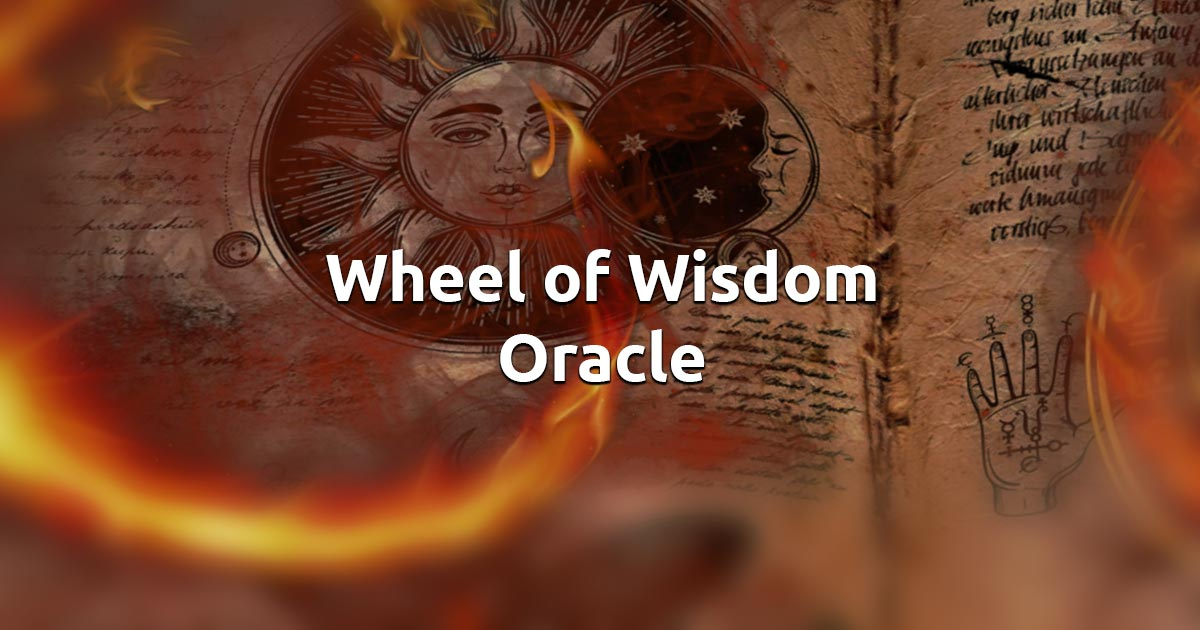 Free Online Wheel of Wisdom Oracle