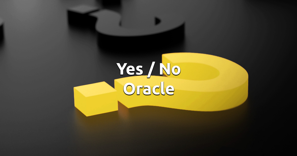 Free Online Yes or No Oracle