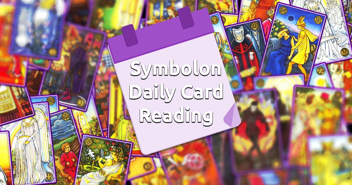 Symbolon Daily Card Reading - Spirit Navigator